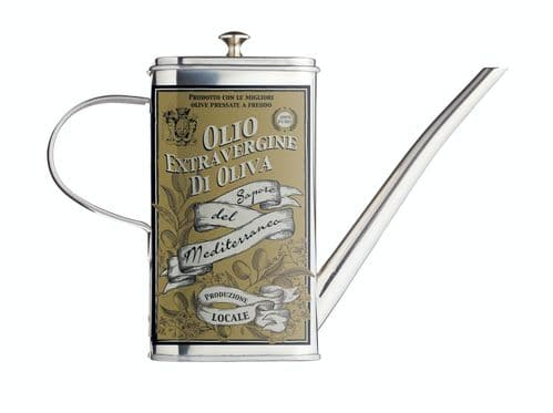 KitchenCraft World of Flavours Italian Stainless Steel Oil Can Drizzler